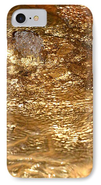 Bubbling Cavern Spring Phone Case by T C Brown