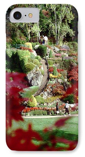 Buchart Gardens IPhone Case