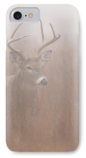 IPhone Case featuring the photograph Buck In Fog by Rob Graham