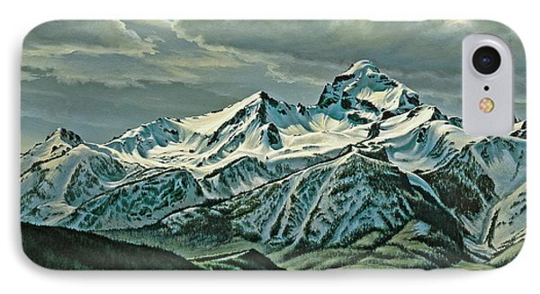 Buck Mountain From Antelope Flat Phone Case by Paul Krapf
