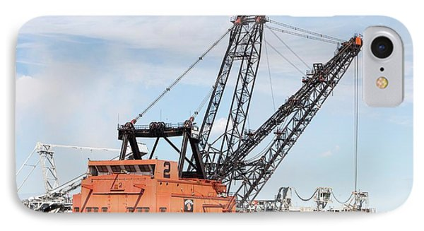 Bucket Wheel By Syncrude Upgrader Plant IPhone Case by Ashley Cooper