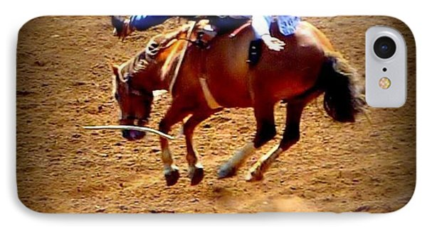 IPhone Case featuring the photograph Bucking Broncos Rodeo Time by Susan Garren