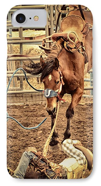 Bucking Phone Case by Caitlyn  Grasso