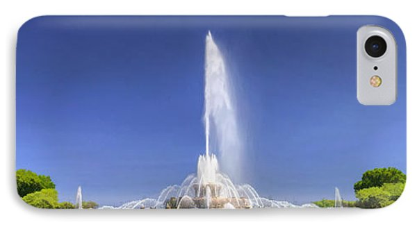 Buckingham Fountain Panorama IPhone Case by Christopher Arndt