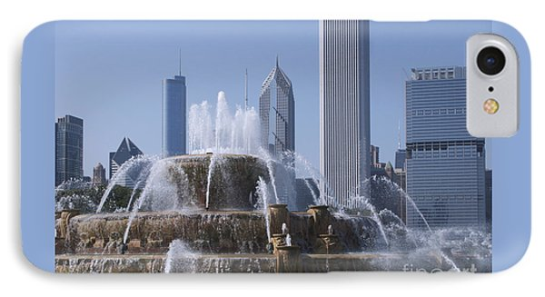 Buckingham Fountain Revisited Phone Case by Ann Horn