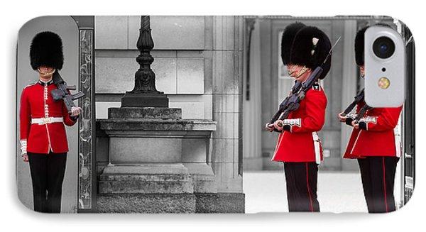 Buckingham Palace Guards IPhone Case by Matt Malloy