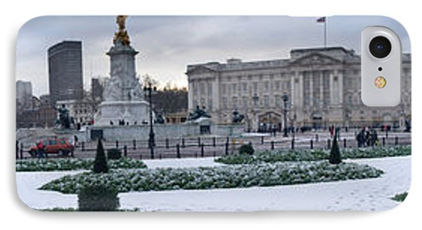 Buckingham Palace In Winter, City IPhone Case by Panoramic Images