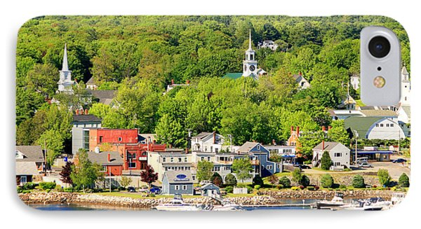 IPhone Case featuring the photograph Bucksport Maine Waterfront by Barbara West