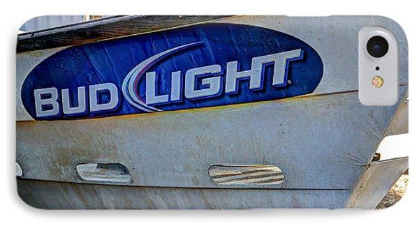 Bud Light Dory Boat Phone Case by Heidi Smith