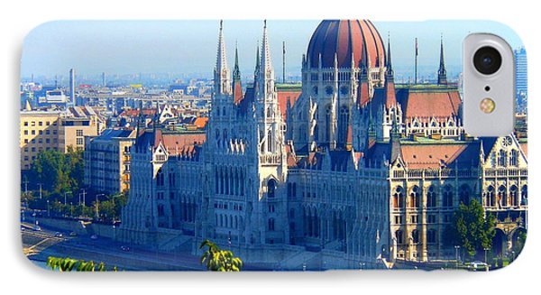 IPhone Case featuring the photograph Budapest Parliament by Kay Gilley