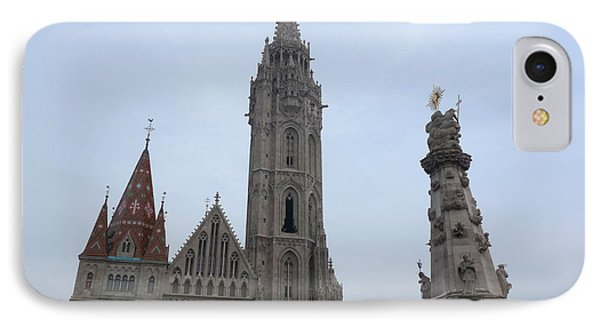 IPhone Case featuring the photograph Budapest Spires by Deborah Smolinske