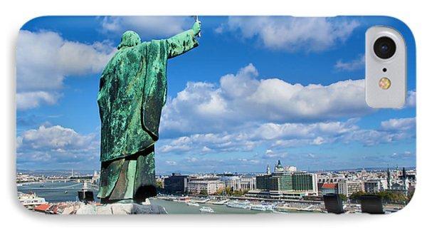 Budapest. View From Gellert Hill Phone Case by Michal Bednarek