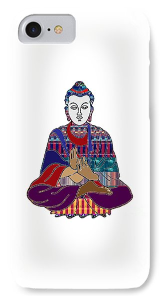 Buddha In Meditation Buddhism Master Teacher Spiritual Guru By Navinjoshi At Fineartamerica.com IPhone Case by Navin Joshi