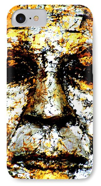 IPhone Case featuring the photograph Buddha Face by Nola Lee Kelsey