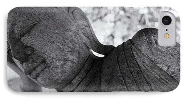 Buddha Face Phone Case by Setsiri Silapasuwanchai