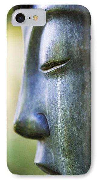 Buddha Face IPhone Case by Tim Gainey