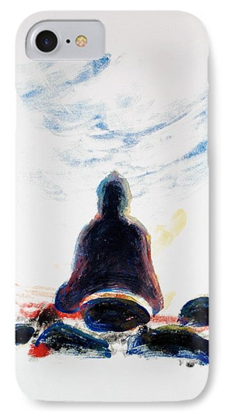 Buddha Fifty-one Phone Case by Valerie Lynch