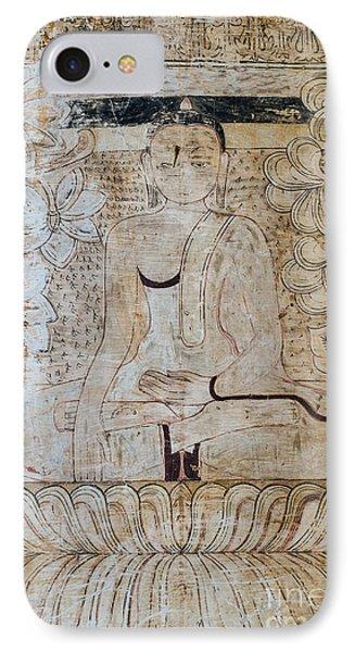 Buddha Fresco IPhone Case