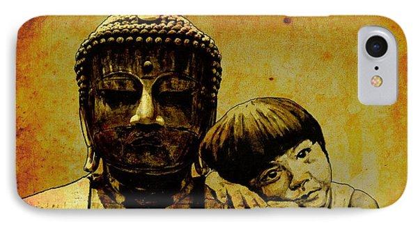 Buddha Girl Phone Case by Richard Tito