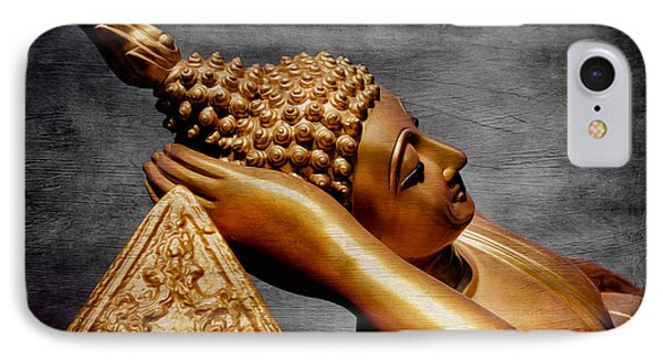 Buddha Golden IPhone Case