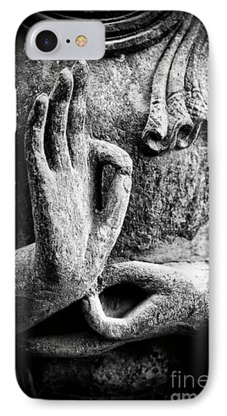 Buddha Hand Mudra IPhone Case