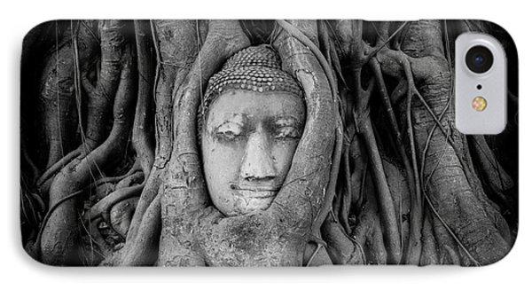 Buddha In The Banyan Tree IPhone Case