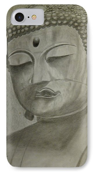 Buddha Phone Case by Irving Starr
