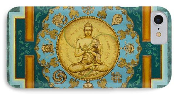 Buddha. Jewels Of Dharma IPhone Case by Yuliya Glavnaya