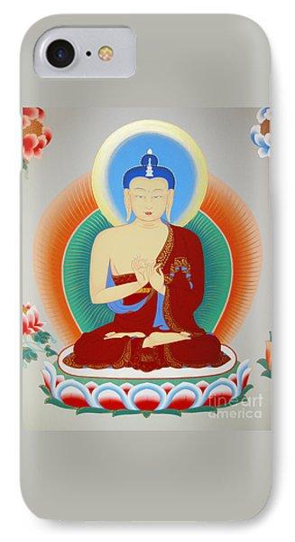 Buddha Maitreya IPhone Case by Sergey Noskov