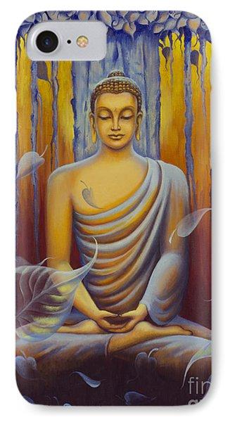Buddha Meditation IPhone Case by Yuliya Glavnaya
