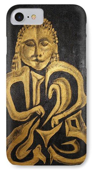 Buddha Metallica Phone Case by Pius Kendakur