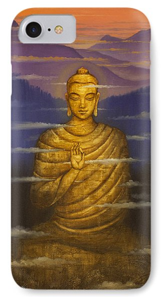 Buddha. Passing Clouds IPhone Case