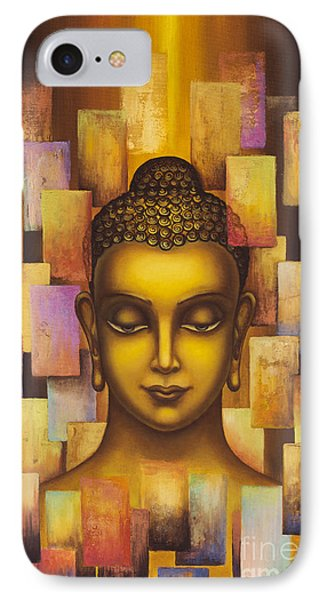 Buddha. Rainbow Body IPhone Case by Yuliya Glavnaya