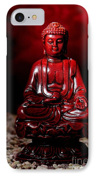Buddha Statue Figurine Phone Case by Olivier Le Queinec