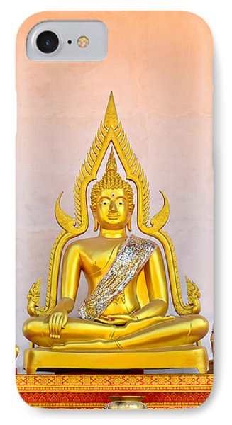 Buddha Statue Phone Case by Keerati Preechanugoon
