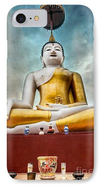 Buddha Thailand IPhone Case by Adrian Evans