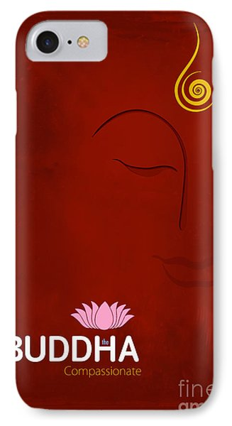 Buddha The Compassionate IPhone Case