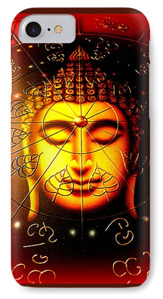 Buddha Phone Case by The Creative Minds Art and Photography