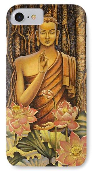 Buddha Phone Case by Vrindavan Das