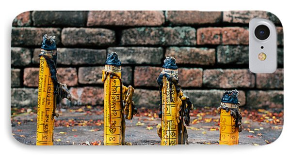 Buddhist Incense IPhone Case by Dean Harte