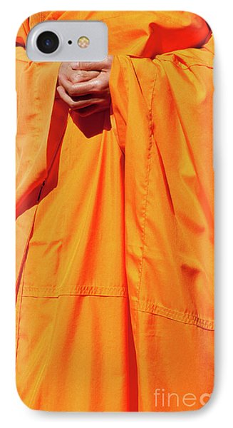 Buddhist Monk 02 IPhone Case
