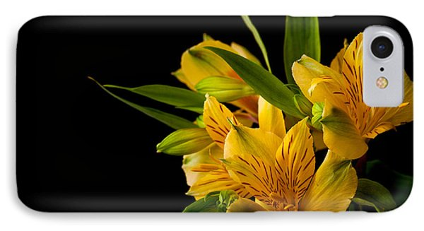IPhone Case featuring the photograph Budding Flowers by Sennie Pierson