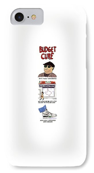 Budget Cure IPhone Case