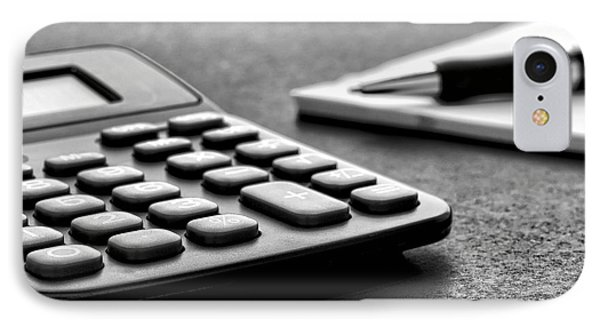 Budgeting  IPhone Case by Olivier Le Queinec