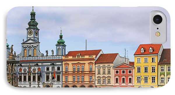 Budweis - Namesti Premysla Otakara II IPhone Case