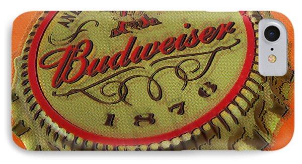 Budweiser Cap Phone Case by Tony Rubino