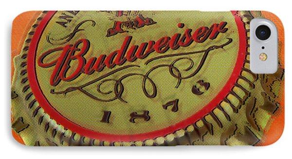Budweiser Cap IPhone Case by Tony Rubino