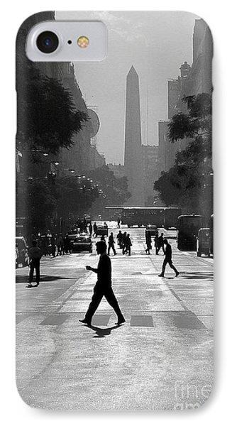 Buenos Aires Obelisk II IPhone Case by Bernardo Galmarini