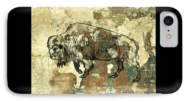IPhone Case featuring the photograph Buffalo 7 by Larry Campbell