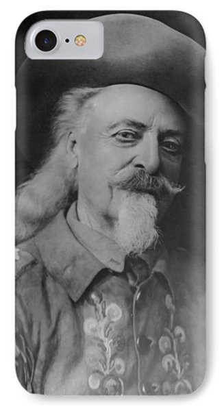 IPhone Case featuring the photograph Buffalo Bill Cody by Charles Beeler